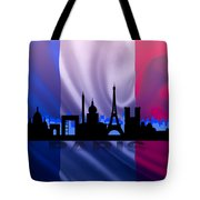 Paris City Tote Bag