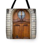 Paris Doors Tote Bag