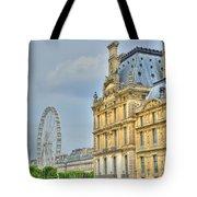 Paris Ferris Wheel Tote Bag