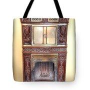Paris Fireplace Tote Bag