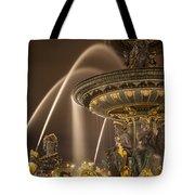Paris Fountain Tote Bag