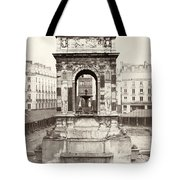Paris Fountain, C1858 Tote Bag