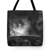 Paris, France Fire, 1773 Tote Bag