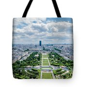 Paris From Above Tote Bag