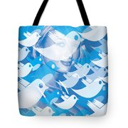 Paris Hilton Twitter Tote Bag