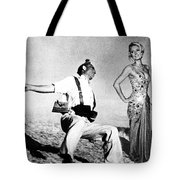 Paris Hilton With The Falling Soldier Tote Bag