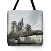 Paris History Tote Bag