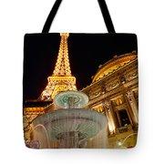 Paris Hotel And Casino In Las Vegas Tote Bag