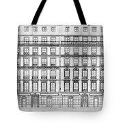 Paris Houses, 1841 Tote Bag