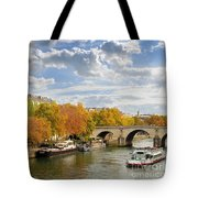 Paris In Autumn Tote Bag