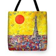 Paris In Sunlight Tote Bag