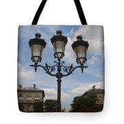 Paris Lamp Post Tote Bag