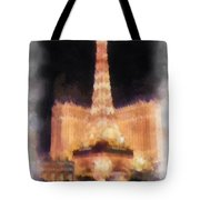 Paris Las Vegas Photo Art Tote Bag