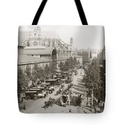 Paris: Les Halles, C1900 Tote Bag