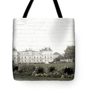 Paris Lore Tote Bag