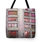 Paris Louis Vuitton Boutique Fashion Shop On The Champs Elysees Tote Bag