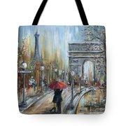 Paris Lovers II Tote Bag