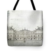 Paris Luxembourg Tote Bag