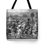 Paris Luxembourg Gardens Tote Bag