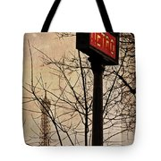 Paris Metro Tote Bag