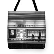 Paris Metro - Franklin Roosevelt Station Tote Bag