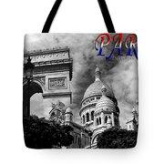 Paris Montage 2 Tote Bag