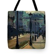 Paris  Morning Tote Bag