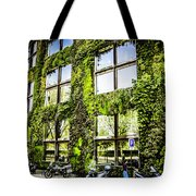 Paris Moss Tote Bag