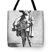 Paris Musician, C1740 Tote Bag