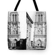 Paris Notre Dame, C1860 Tote Bag
