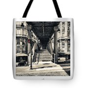 Paris - Old Man Tote Bag