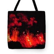 Paris On Fire Tote Bag