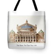 Paris Opera - 1875 Tote Bag