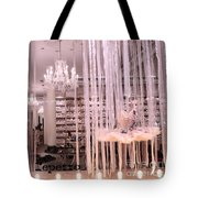 Paris Repetto Ballerina Tutu Shop - Paris Ballerina Dresses Window Display  Tote Bag
