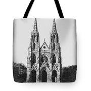 Paris Sainte Clotilde Tote Bag
