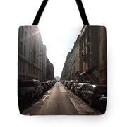 Paris Side Street Tote Bag