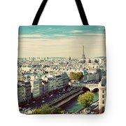 Paris Skyline France. Eiffel Tower Tote Bag