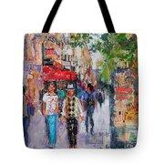 Paris Street Tote Bag