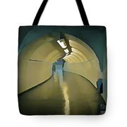 Paris Subway Connecting Tunnel Tote Bag