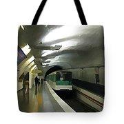 Paris Subway  Tote Bag