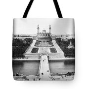 Paris Trocadero, C1900 Tote Bag