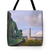 Paris View #4 Tote Bag