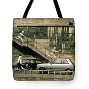 Paris Wall Tote Bag