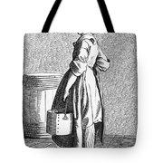 Paris Walnut Vendor, C1740 Tote Bag