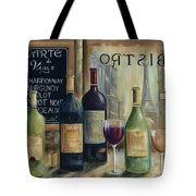 Paris Wine Tasting Tote Bag by Marilyn Dunlap