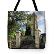 Parish Church Of St Candida And Holy Cross Tote Bag