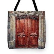 Parisian Door No. 8 Tote Bag