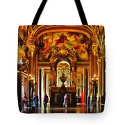 Parisian Opera House Tote Bag