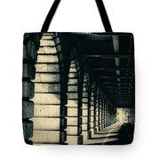 Parisian Rail Arches Tote Bag