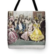 Parisian Salon, 1825 Tote Bag
